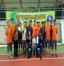 풋살 경기를 통해 청소년들 자긍심을 높인다.