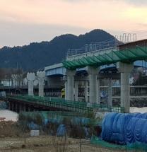 동해선 철도 왕피천 고가교 부실공사 의혹