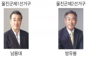 경상북도의회의원선거 남용대, 방유봉 당선 확정