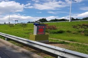 울진경찰서 역주행 사고방지 시설물 개선