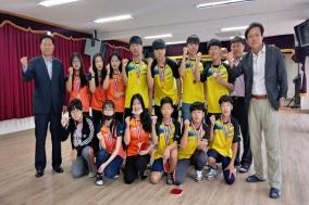 온정중 '학교스포츠클럽 탁구 대회' 남·여중부 나란히 3위
