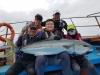 울진 왕돌초에서 158cm 대형 부시리 낚여
