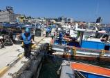 울진해경, 죽변항 해양오염 예방 캠페인 전개