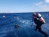 울진해경, 해양사고 대응력 강화를 위한 민, 관 합동 '수중 수색 구조훈련'