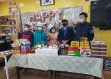 울진군중증장애인자립지원센터, 신규원전관리실 직원들과 생일파티 열어