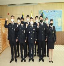 울진해경, '신임 해양경찰관 8명 임용식' 열어
