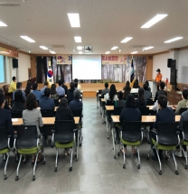 울진교육지원청-울진소방서, 2021년 공공기관 합동소방훈련 실시