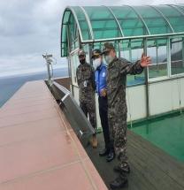 울진해경·육군 해안감시소 방문 협력 강화